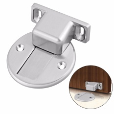 Strong Magnetic Door Stop Stainless Steel Door Holder Stopper Heavy Duty Door Catch with Fitting Screws Support Max Suction 78.5 N - intl