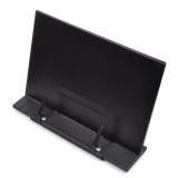 Recent Student Adjustable Folding Desktop Cookbook Document Book Reading Stand Holder Bookrest Black