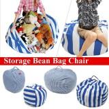 Buy Stuffed Animal Storage Bean Bag Chair Kids Toy Organizer With Handle M 58X40Cm Intl Online
