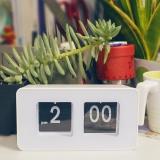 Sales Price Stylish Auto Flip Clock Desk Table Clocks Intl