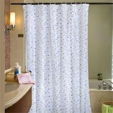 Buy Stylish Living Elegant 100 Peva Bathroom Shower Curtain Intl Cheap On China