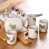 Discount Ceramic Hand Painted Can Be Optional Ceramic Tray Tea Set