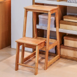 Discount Sub Wood 1208S Full Wood Home Folding Ladder Stool Oem On China