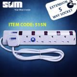 Sum 5 Way Extension Safety Socket On Singapore
