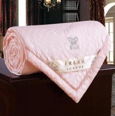 Where To Shop For Summer 100 Mulberry Silk Filled Comforter Quilt Duvet Coverlet Blanket Doona Butterfly Flower Jade Color 200 230Cm