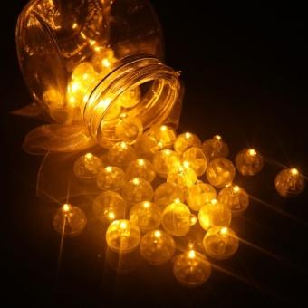 Sunshop 10Pcs Christmas Decor Led Balloon Lights Mini Flash Lamps Lantern Wedding Party Home Decoration