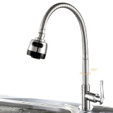 Best Price Sunshop 6 Types Universal Rotatable Tap Faucet Wall Mounted Deck Mounted Kitchen Basin Sink Faucet 3 Intl