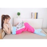 Super Soft Mermaid Tail Blanket Sofa Sleeping Bags Flannel Kids G*Rl Costume Intl Deal
