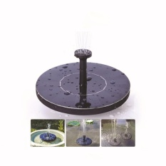 Super Star Mall Solar Bird bath Fountain Pump, Outdoor Watering Submersible Pump, Free Standing Water Pumps with 1.4W Solar Panel For Garden Pool Pond Patio - intl