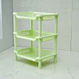 Best T Bathroom Square Shelf Plastic Bathroom Storage Rack Bathroom Rack Kitchen Storage Rack 320G Intl