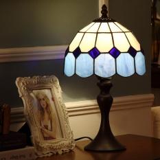 Table Lamp Modern Simple Bedside Table Lights Creative Decorative Lamps Iron Glass Fashion Desk Lamp H38cm * W20cm - intl