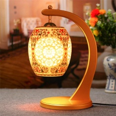 Sale Table Lampsceramic Lamp Decoration European Golden Chinese Garden Wedding Gift Creative Ceramic Lamp Intl Oem Wholesaler