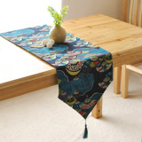 Review Table Runner Table Cloth Table Flag Hotel Restaurant Modern Minimalist Trade Japanese Style Lucky Fan Oem On China