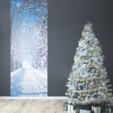 Brand New Tanbaby 2017 New Fashion 2 Pcs Set Winter Snow Wall Stickers Diy Mural Bedroom Home Decoration 3D Wall Stickers Poster Door Stickers Wallpaper Home Decoration