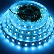 Cheaper Tanbaby 5050 Ice Blue Led Strip Light 300Leds 5M Dc 12V Flexible Light Tape Lamp For Christmas New Year Holiday Home Lighting Intl