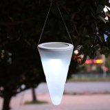 Best Reviews Of Tanbaby Solar Hanging Light Cone Shape Rgb White Warm White Waterproof Outdoor Decoration Light For Garden Pathway Yard Party Landscape Wall Led Holiaday Lighting
