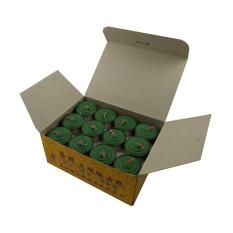 Tealight Shortening Candle in Green (Box)