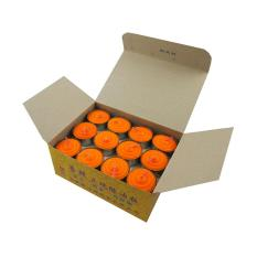 Tealight Shortening Candle in Orange (Box)