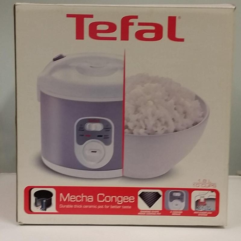 Tefal Congee and Rice Cooker 1.8L RK1056 Singapore