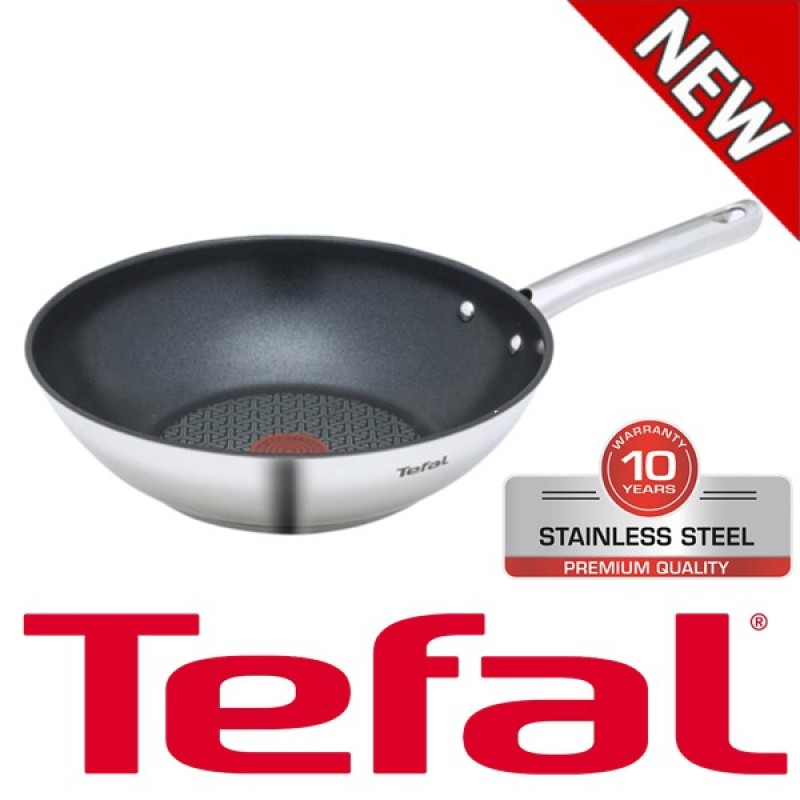 Tefal Duetto Multi Pan Wok Suitable For Induction Cookers 28cm(Sliver) - intl Singapore