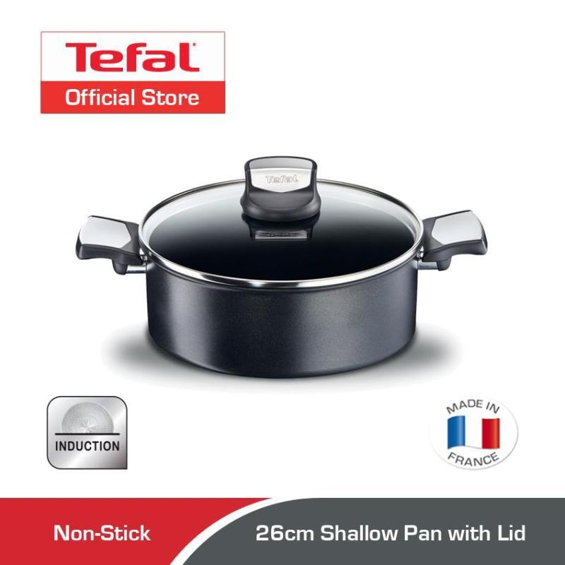 Tefal Expertise Shallow Pan w/Lid 26cm C62071 Singapore