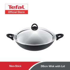 Buying Tefal Novel Induction Hard Anodised Wok W Lid 36Cm A69698