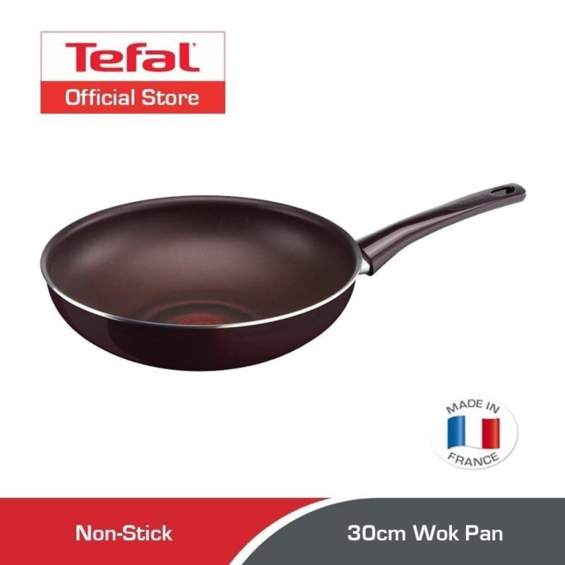 Tefal Pleasure Wok Pan 30cm D50225 Singapore