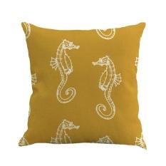 tengxun Square Sofa Pillow Covers, Pawaca Linen Throw Pillowcase Cover 18 X 18 Home Sofa Car Decorative Cushion Covers - intl