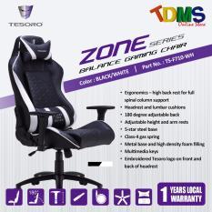 Get Cheap Tesoro Zone Balance Gaming Chair Black White Ergonomic Design White