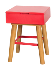 Compare Prices For Tetris Stool Red Storage Bench Lego Secret Compartment Drawer Stool Colourful Chair