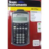 Sale Texas Instruments Ba Ii Plus Financial Calculator Online On Singapore