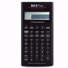 Discount Texas Instruments Baii Plus Pro Financial Calculator For Cfa Garp Texas Instruments Singapore