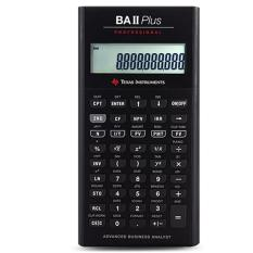 Get Cheap Texas Instruments Ti Ba Ii Plus Professional Financial Calculator For Cfa Intl