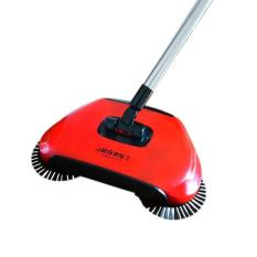 Deals For Tf New Originality Hand Push Type Rotate Clean Broom Red Intl