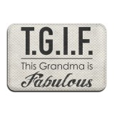 Buy Tgif This Grandma Is Fabulous Indoor Outdoor Bathroom Mats 2416 Inch Intl Oem Cheap