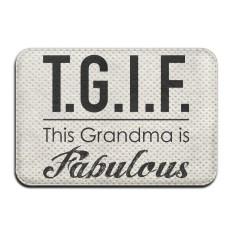 Review Tgif This Grandma Is Fabulous Indoor Outdoor Bathroom Mats 2416 Inch Intl Oem
