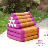 Price Thailand Kapok Triangle Cushion Sofa Cushion One Sill Pad Balcony Mat Windows And Pad Bedroom Four Seasons Oem Online