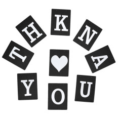 Thank You Wedding Banner Bunting Garlands Photo Props Bridal Party Decorate Sign Black By Audew.