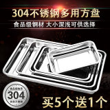 Thick Deep Plate Stainless Steel Square Plate Review