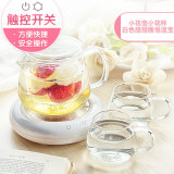 Great Deal Things Biological Herbal Tea Heating Tea Heat Resistant Teapot Creative Glass Pot Filter Tea Set