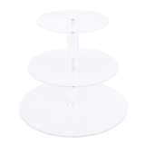 Deals For Three Tier Clear Acrylic Round Cupcake Stand Birthday Wedding Party Display