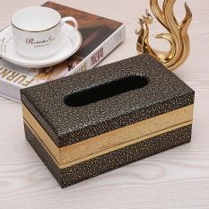 Review Tissue Box European Simple Living Room Waterproof Paper Towel Box Home Pumping Carton 20 12 8Cm Intl Oem