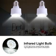 TMISHION 1.8W 220V PIR Infrared Motion Sensor LED Lamp Bedroom Energy Saving Light Bulb (Plug in Type) - intl Singapore