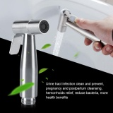 Retail Price Tmishion Stainless Steel Hand Held Bidet Sprayer Set With T Adapter Valve Hose And Holder Intl