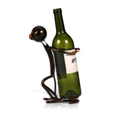 Tooarts Metal Sculpture Monkey Shaped Wine Rack Wine Bottle Holder Home Furnishing Articles Export For Sale Online
