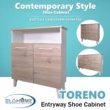 Low Cost Toreno Multifunction Shoes Cabinet Sc1304 With Top Storage Free Install Delivery