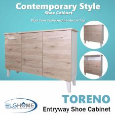 Discounted Toreno Multifunction Shoes Cabinet Sc1306 Free Install Delivery