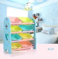 New Toy Storage Shelves Rack Cabinet Drawer Abs Plastic Box Children Kids Shelf Case Toys Organizer Furniture Toddler Plastic Rack