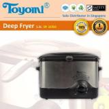 Review Toyomi Df 323Ss Deep Fryer S Steel Body 1 5L Toyomi On Singapore