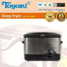 Cheap Toyomi Df 323Ss Deep Fryer S Steel Body 1 5L Online